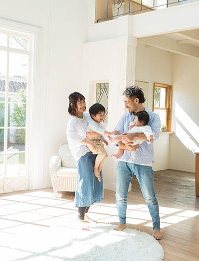 ReHOMEが考える家族との理想の家。